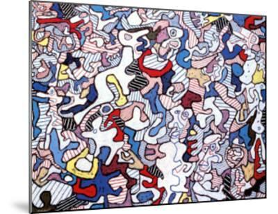 Family Life, August 10, c.1963-Jean Dubuffet-Mounted Art Print