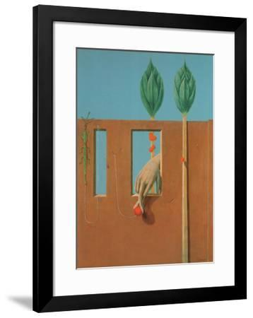 At the First Clear Word, c.1923-Max Ernst-Framed Art Print