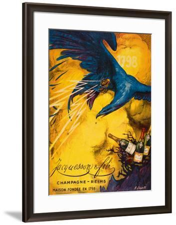Champagne Jacqueson--Framed Giclee Print