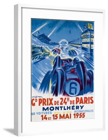 Grand Prix de Montlhery-Geo Ham-Framed Giclee Print