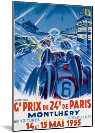 Grand Prix de Montlhery-Geo Ham-Mounted Giclee Print