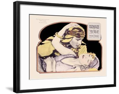 Rudolph Valentino, Son of the Sheik--Framed Giclee Print