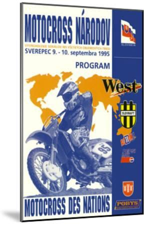 Narodov Nations of Motocross--Mounted Giclee Print