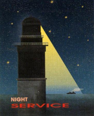 Night Service-Diego Patrian-Art Print