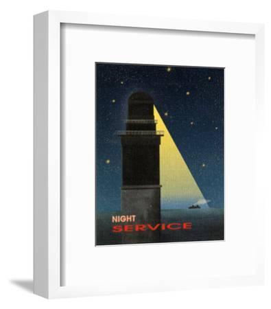 Night Service-Diego Patrian-Framed Art Print