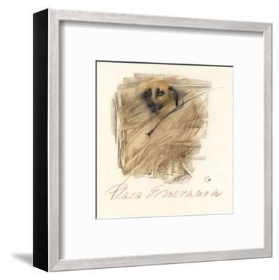 Plaza Esperanza-Ines Champagne-Framed Art Print
