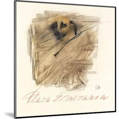 Plaza Esperanza-Ines Champagne-Mounted Art Print