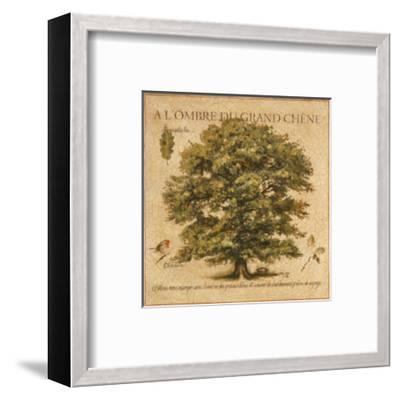 A l'Ombre du Grand Chene-Pascal Cessou-Framed Art Print