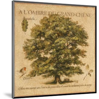A l'Ombre du Grand Chene-Pascal Cessou-Mounted Art Print