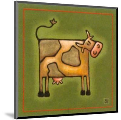 Madame la Vache-Raphaele Goisque-Mounted Art Print