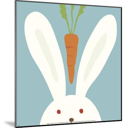 Peek-a-Boo I, Rabbit-Yuko Lau-Mounted Art Print