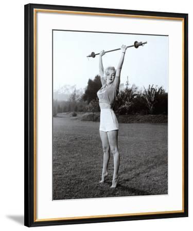 Marilyn Workin' It--Framed Art Print
