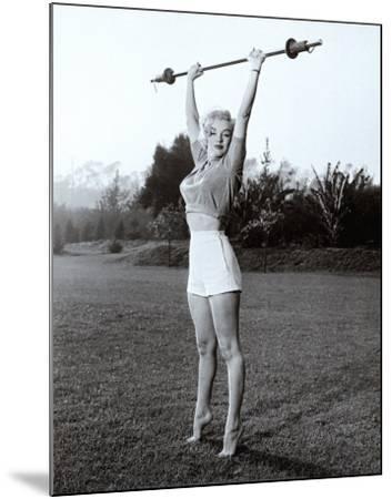 Marilyn Workin' It--Mounted Art Print