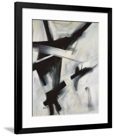 Black and White-Eva Carter-Framed Art Print