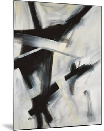 Black and White-Eva Carter-Mounted Art Print