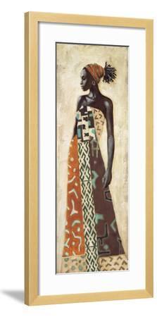 Femme Africaine IV-Jacques Leconte-Framed Art Print