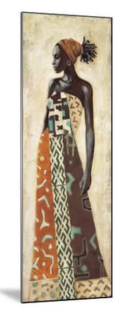 Femme Africaine IV-Jacques Leconte-Mounted Art Print