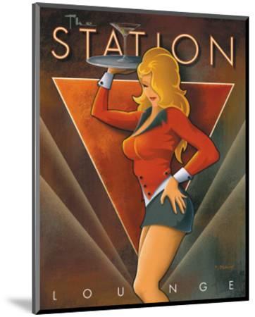 The Station Lounge-Michael L^ Kungl-Mounted Art Print