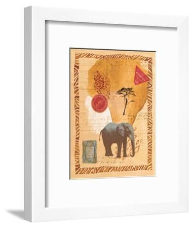 Travel Elephant-Fernando Leal-Framed Art Print