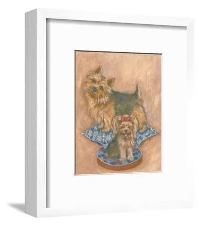 Terriers-Carol Ican-Framed Art Print