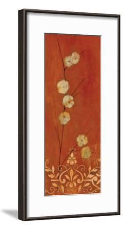 Sienna Flowers I-Fernando Leal-Framed Art Print