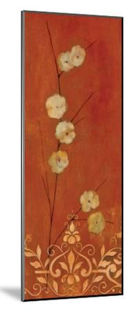 Sienna Flowers I-Fernando Leal-Mounted Art Print