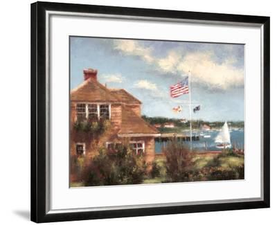 Edgartown-Todd Williams-Framed Art Print