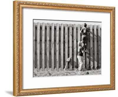 Outta Here--Framed Art Print