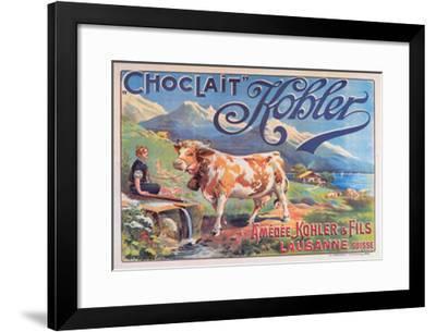 Chocolat Kohler--Framed Art Print