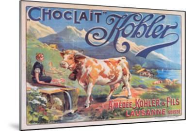Chocolat Kohler--Mounted Art Print