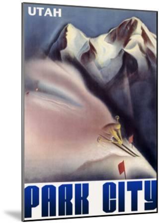 Park City Utah Mountain--Mounted Giclee Print