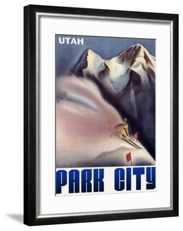 Park City Utah Mountain--Framed Giclee Print