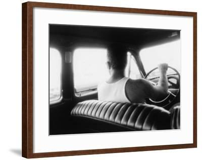 Hot Rods and T-Shirts-David Perry-Framed Giclee Print