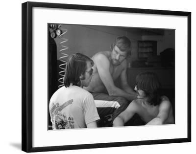 Three World Champions-Charlie Morey-Framed Giclee Print