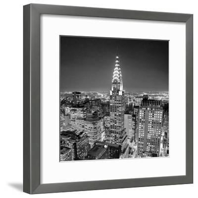 Chrysler Building-Henri Silberman-Framed Art Print