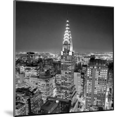 Chrysler Building-Henri Silberman-Mounted Art Print