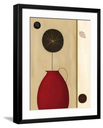 Red Pitcher-Jo Parry-Framed Art Print