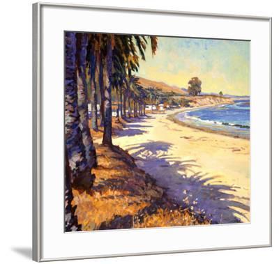 Refugio Beach-John Comer-Framed Art Print