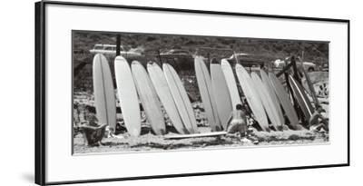 Waxing Up, 1960-Leigh Wiener-Framed Art Print