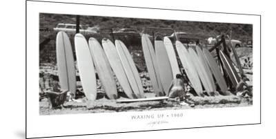 Waxing Up, 1960-Leigh Wiener-Mounted Art Print