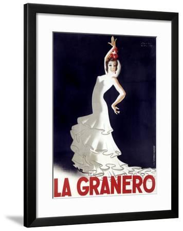 La Granero Flamenco Dance-Paul Colin-Framed Giclee Print