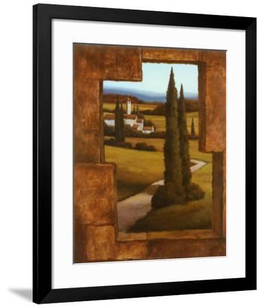 Tuscan Villa II-T^ C^ Chiu-Framed Art Print