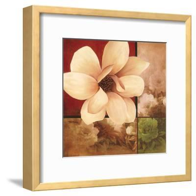 Magnolia Collage-T^ C^ Chiu-Framed Art Print