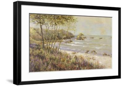 Wildflowers at the Sea-Michael Longo-Framed Art Print