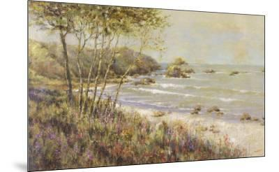 Wildflowers at the Sea-Michael Longo-Mounted Art Print