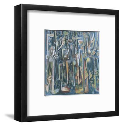The Jungle, 1943-Wilfredo Lam-Framed Art Print