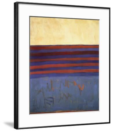 Your Lips Are Blue, c.1958-Frank Stella-Framed Art Print