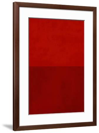 Monochrome Red, c.2005-Vlado Fieri-Framed Serigraph