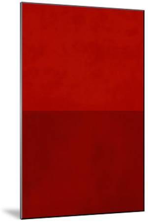 Monochrome Red, c.2005-Vlado Fieri-Mounted Serigraph