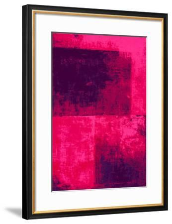 Surface II-Clement Garnier-Framed Serigraph